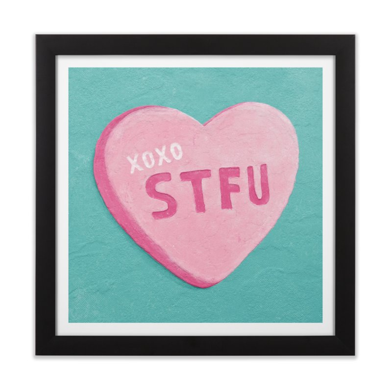 Sweetheart Home Framed Fine Art Print by MidnightCoffee