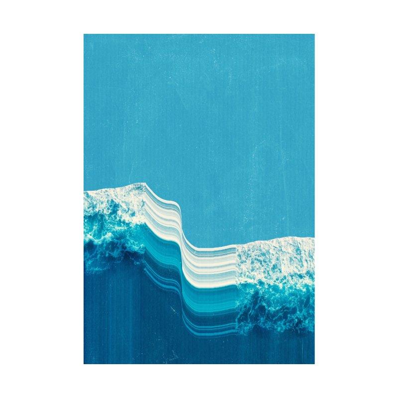 Blue Tide Men's Tank by MidnightCoffee