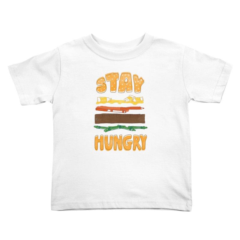 Art Attack Kids Toddler T-Shirt by MidnightCoffee