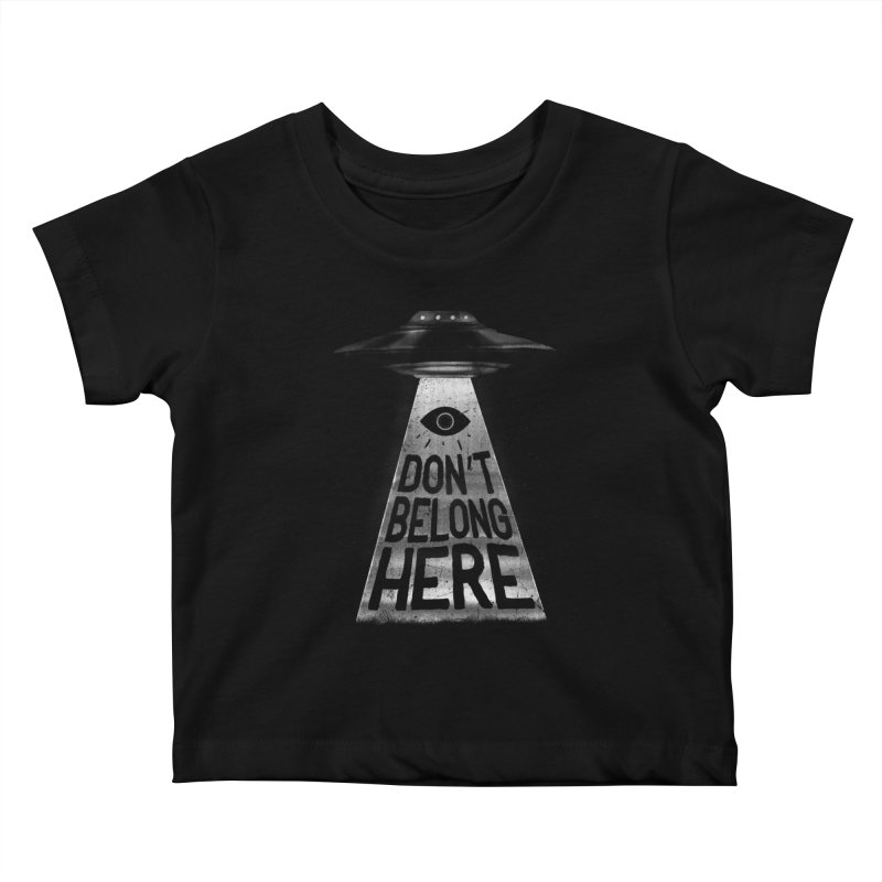 I'm A Creep Kids Baby T-Shirt by MidnightCoffee