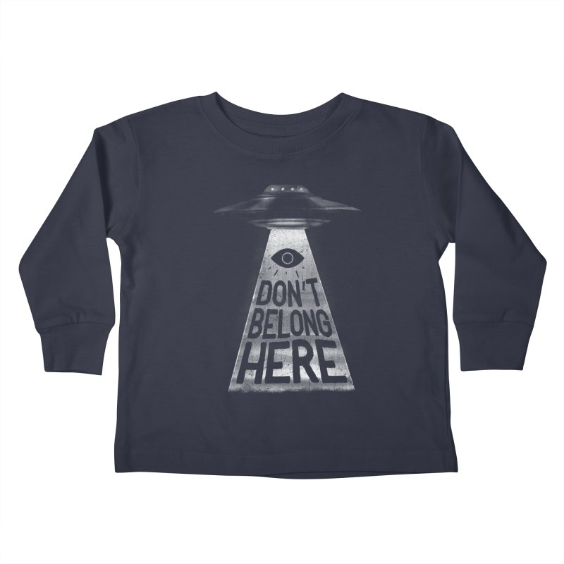 I'm A Creep Kids Toddler Longsleeve T-Shirt by MidnightCoffee
