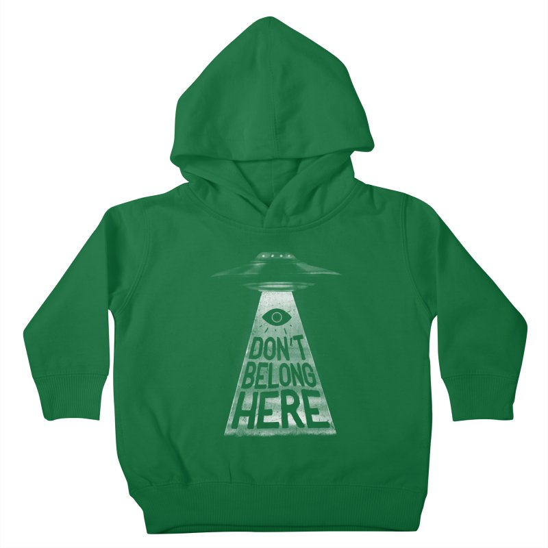 I'm A Creep Kids Toddler Pullover Hoody by MidnightCoffee