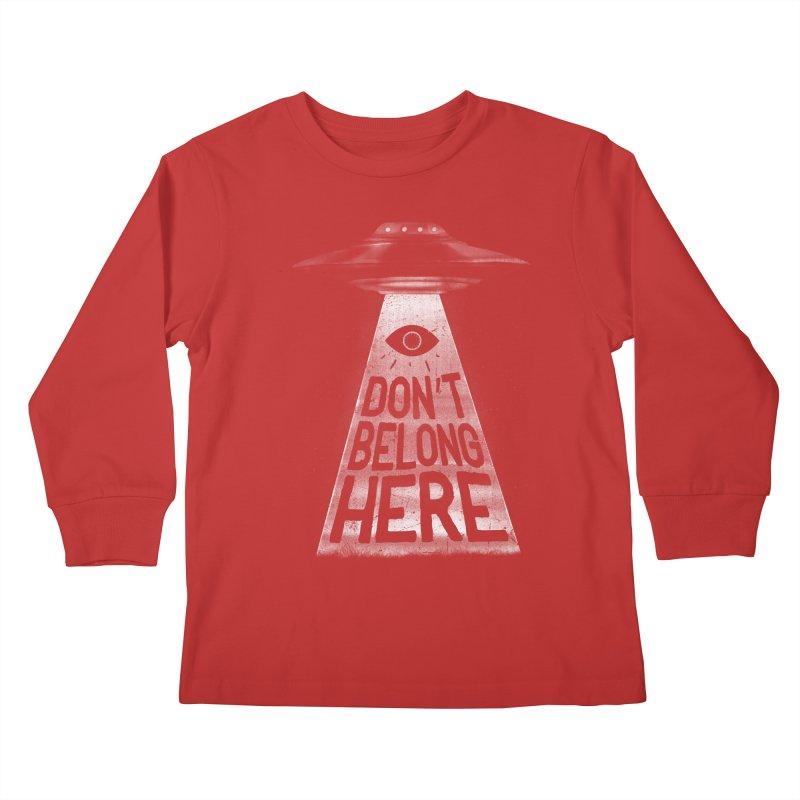 I'm A Creep Kids Longsleeve T-Shirt by MidnightCoffee