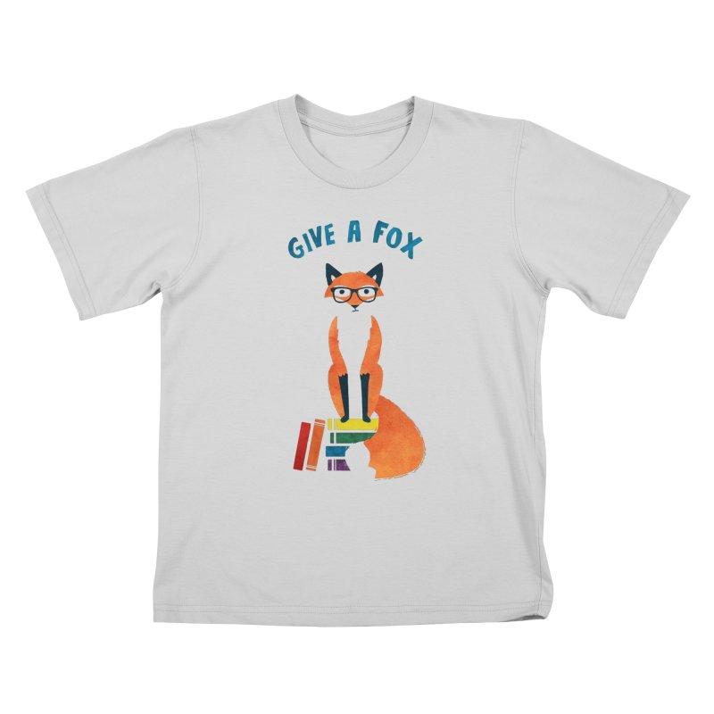 Give a Fox Kids T-Shirt by MidnightCoffee