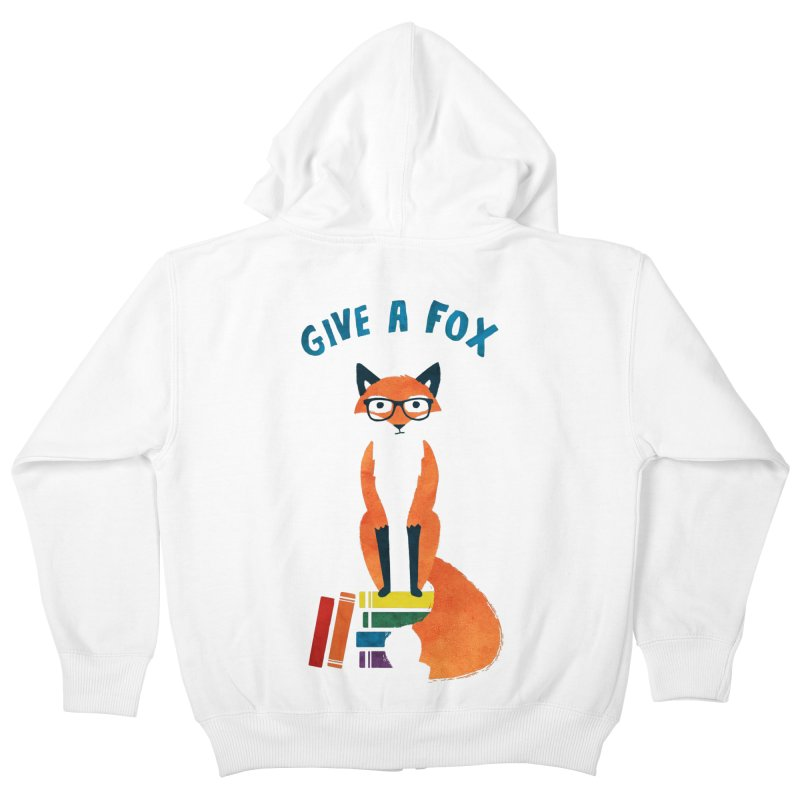 Give a Fox Kids Zip-Up Hoody by MidnightCoffee