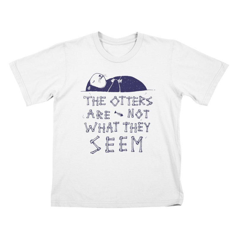 You Otter Know Kids T-shirt by MidnightCoffee