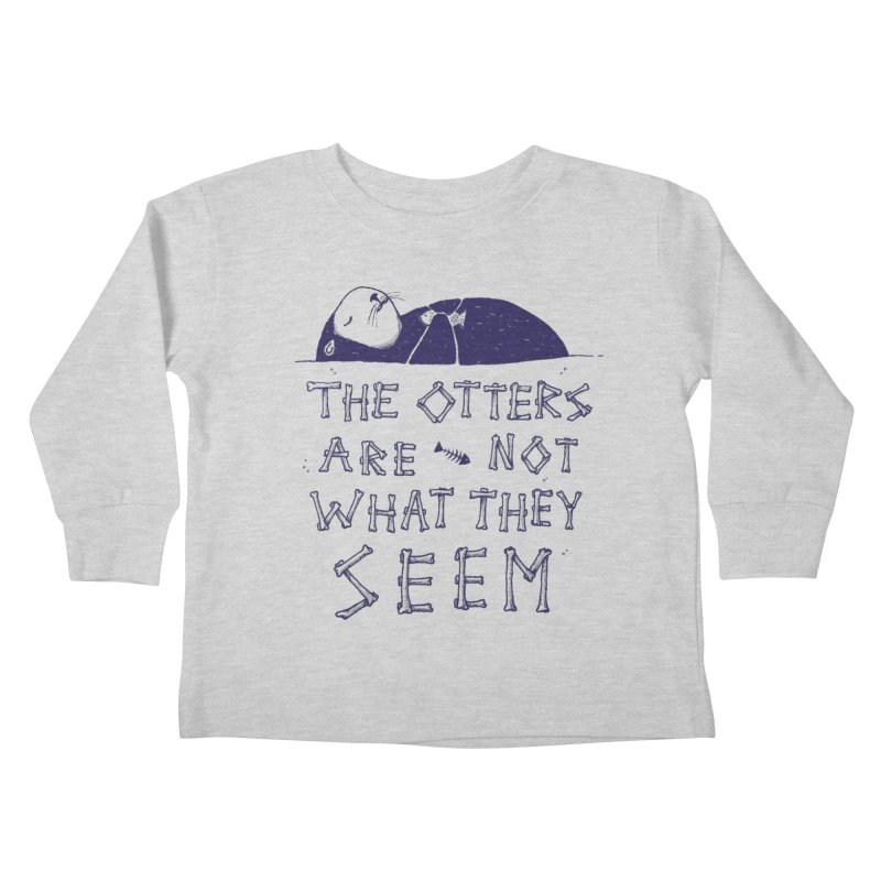 You Otter Know Kids Toddler Longsleeve T-Shirt by MidnightCoffee