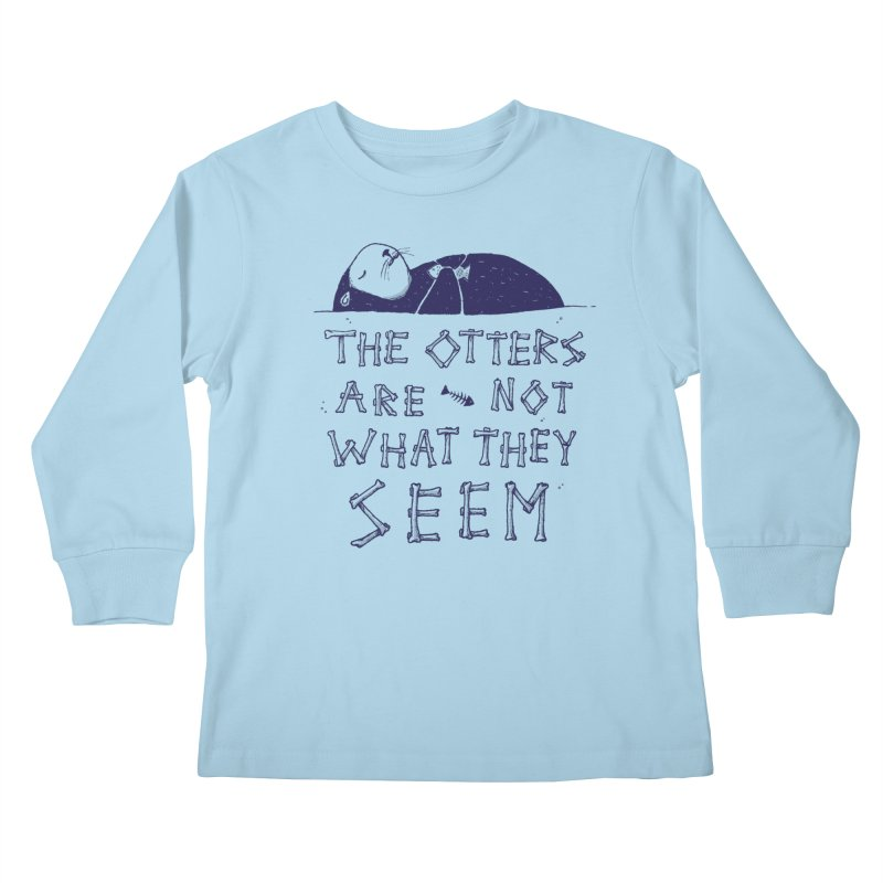 You Otter Know Kids Longsleeve T-Shirt by MidnightCoffee