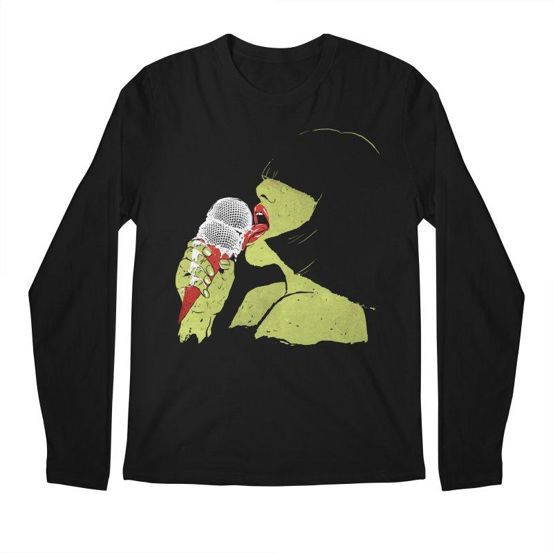 Satisfaction Men's Longsleeve T-Shirt by MidnightCoffee