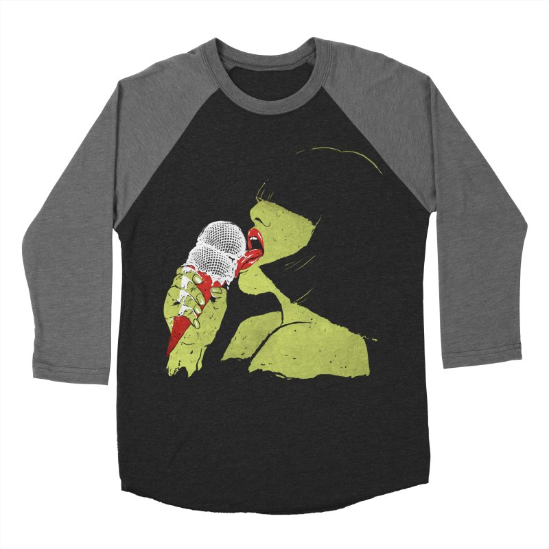 Satisfaction Women's Baseball Triblend T-Shirt by MidnightCoffee