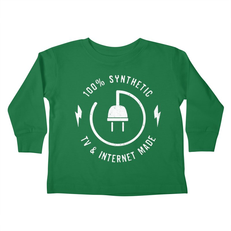 100% Synthetic Kids Toddler Longsleeve T-Shirt by MidnightCoffee