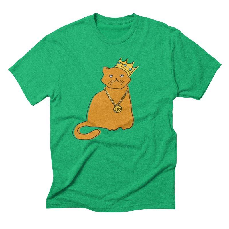 B.I.G. Men's Triblend T-Shirt by MidnightCoffee