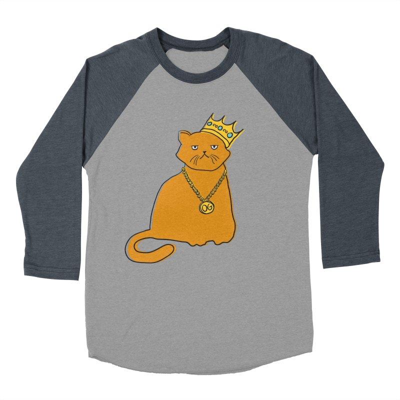B.I.G. Men's Baseball Triblend T-Shirt by MidnightCoffee