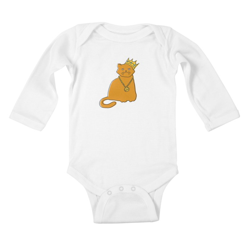 B.I.G. Kids Baby Longsleeve Bodysuit by MidnightCoffee