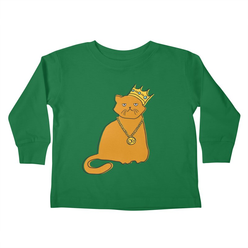 B.I.G. Kids Toddler Longsleeve T-Shirt by MidnightCoffee