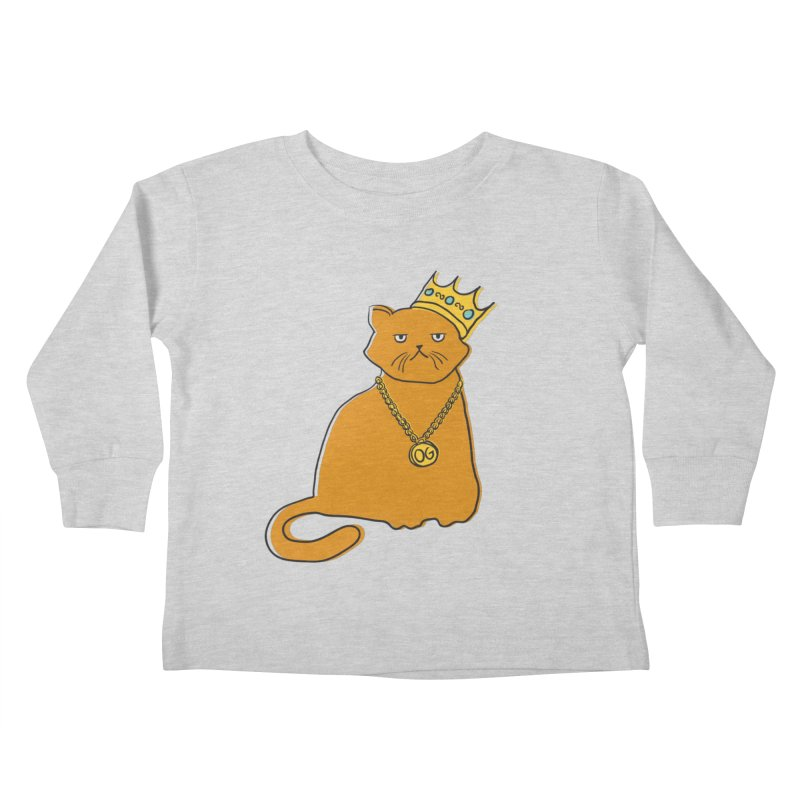 B.I.G. Kids Toddler Longsleeve T-Shirt by MidnightCoffee