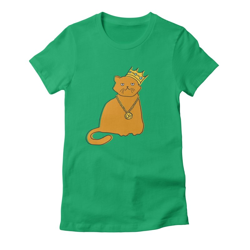 B.I.G. Women's Fitted T-Shirt by MidnightCoffee