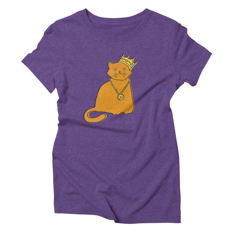 B.I.G. Women's Triblend T-shirt by MidnightCoffee