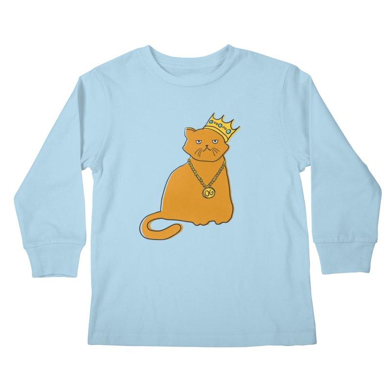 B.I.G. Kids Longsleeve T-Shirt by MidnightCoffee
