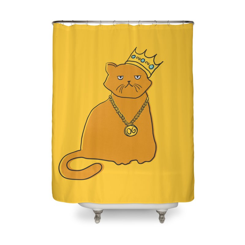 B.I.G. Home Shower Curtain by MidnightCoffee