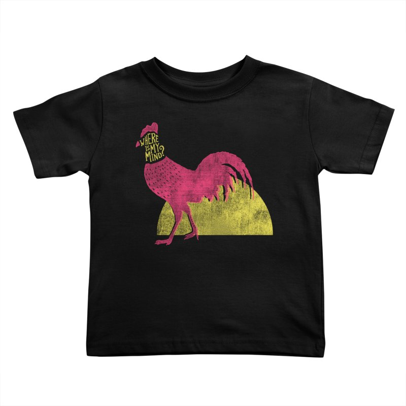 Where Is My Mind Kids Toddler T-Shirt by MidnightCoffee