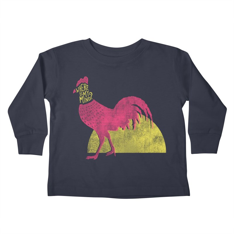 Where Is My Mind Kids Toddler Longsleeve T-Shirt by MidnightCoffee