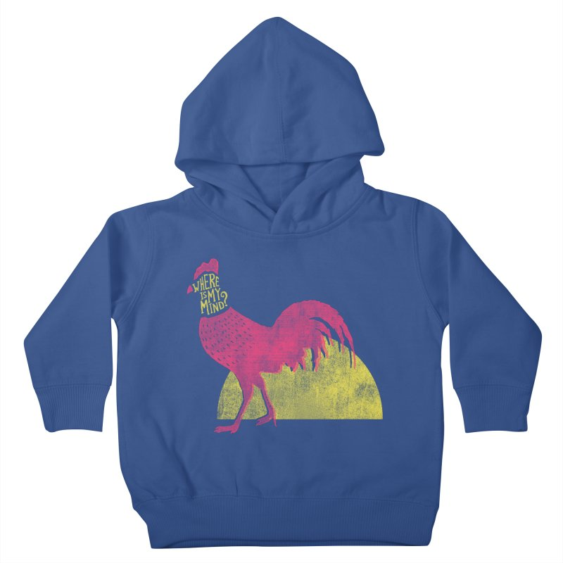 Where Is My Mind Kids Toddler Pullover Hoody by MidnightCoffee