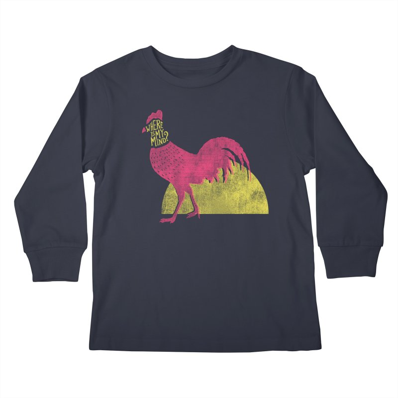 Where Is My Mind Kids Longsleeve T-Shirt by MidnightCoffee
