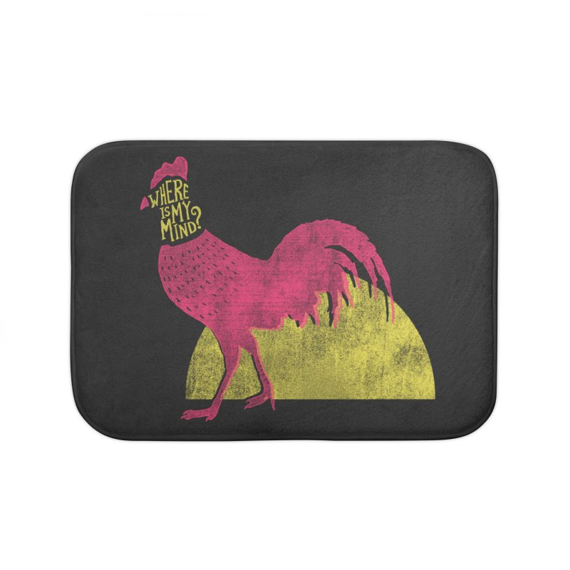 Where Is My Mind Home Bath Mat by MidnightCoffee