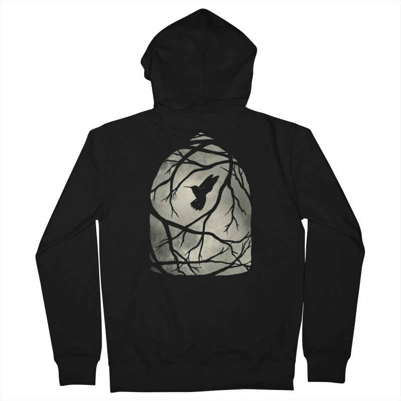 My Home; My Cage Men's French Terry Zip-Up Hoody by MidnightCoffee