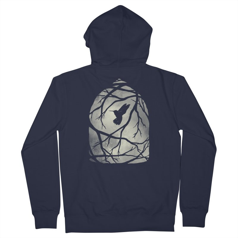 My Home; My Cage Men's Zip-Up Hoody by MidnightCoffee