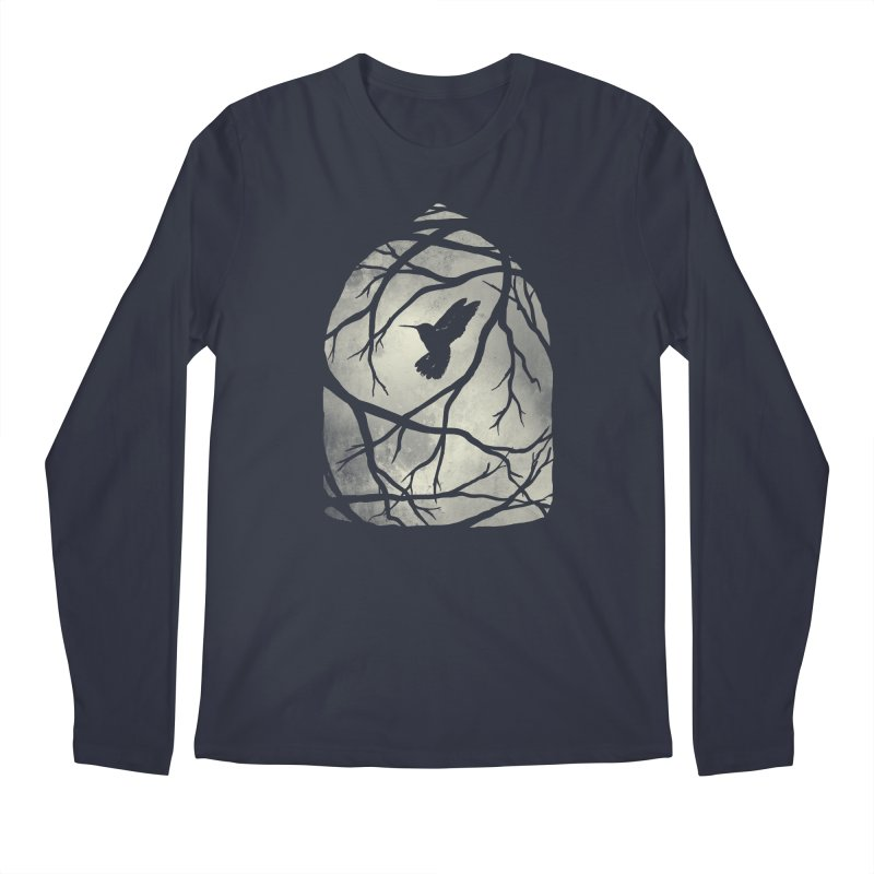 My Home; My Cage Men's Regular Longsleeve T-Shirt by MidnightCoffee