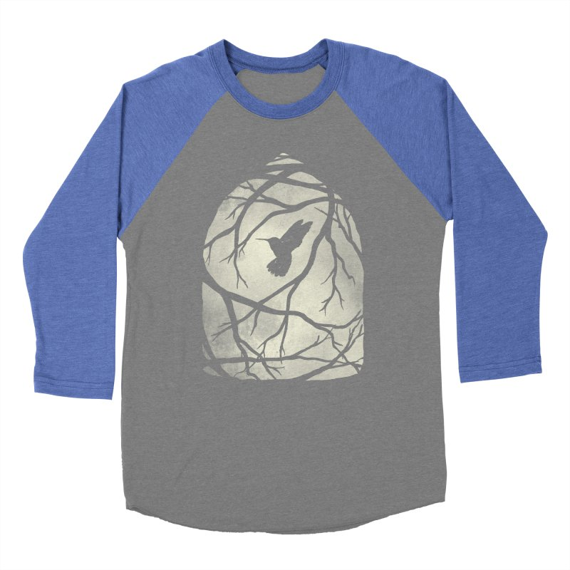 My Home; My Cage Men's Baseball Triblend T-Shirt by MidnightCoffee