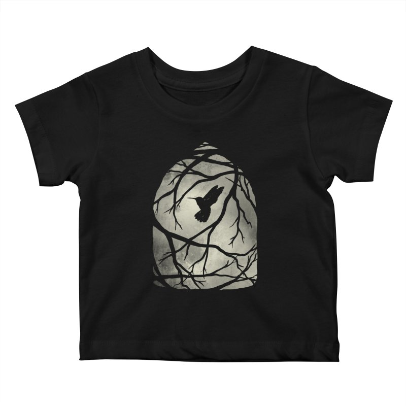My Home; My Cage Kids Baby T-Shirt by MidnightCoffee
