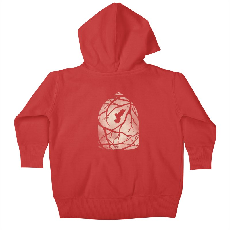 My Home; My Cage Kids Baby Zip-Up Hoody by MidnightCoffee