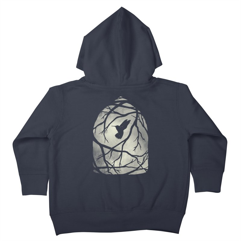 My Home; My Cage Kids Toddler Zip-Up Hoody by MidnightCoffee