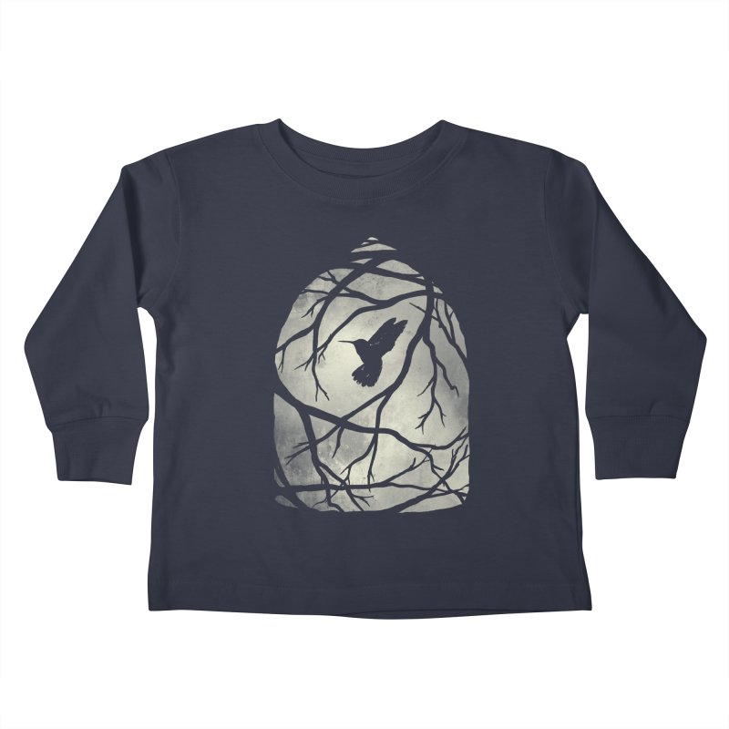 My Home; My Cage Kids Toddler Longsleeve T-Shirt by MidnightCoffee