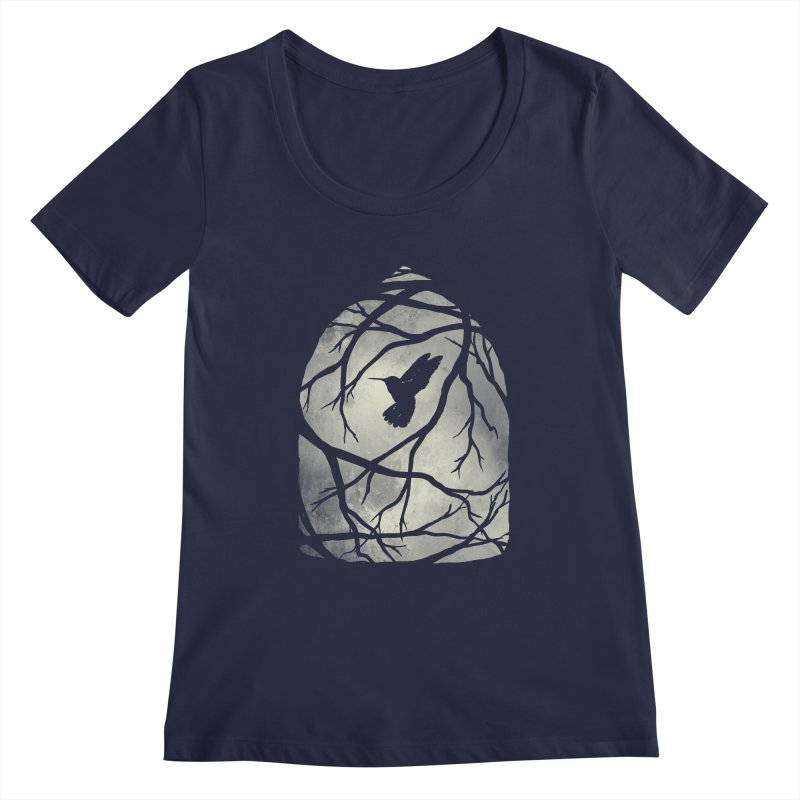 My Home; My Cage Women's Scoopneck by MidnightCoffee
