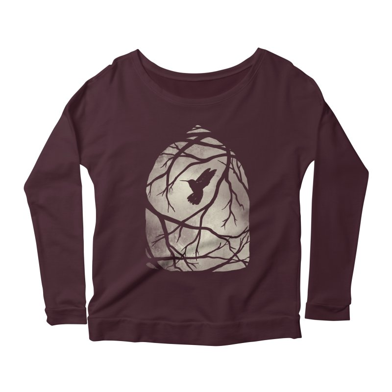 My Home; My Cage Women's Longsleeve Scoopneck  by MidnightCoffee