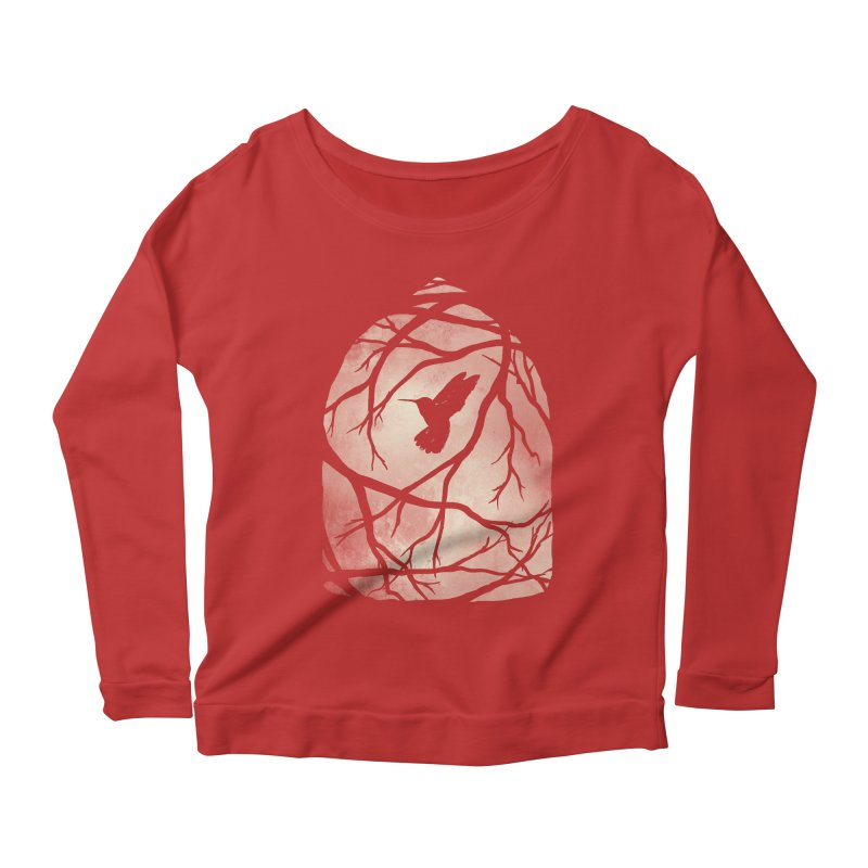 My Home; My Cage Women's Scoop Neck Longsleeve T-Shirt by MidnightCoffee