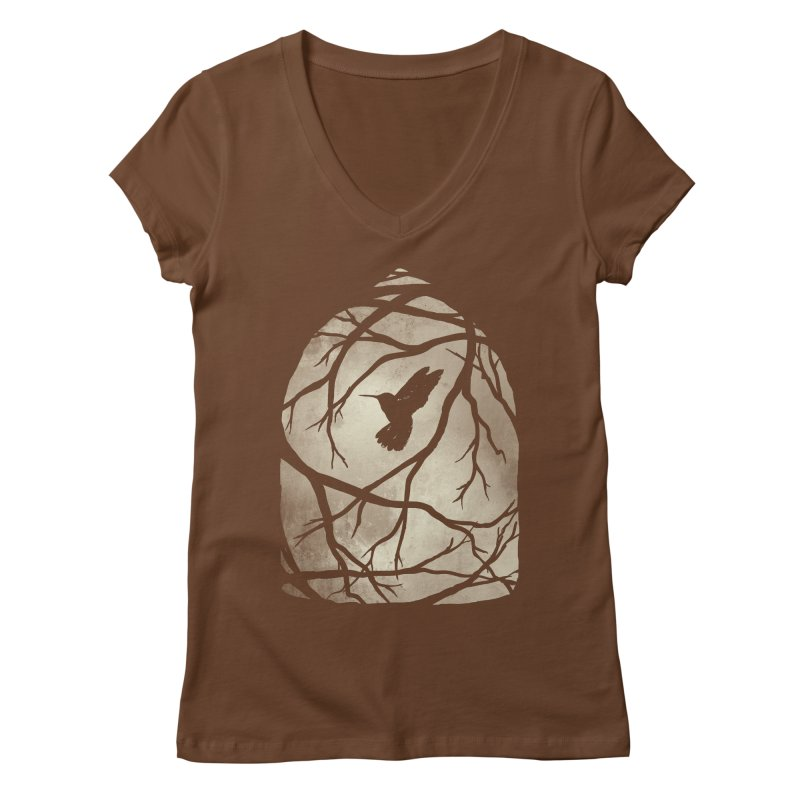 My Home; My Cage Women's V-Neck by MidnightCoffee