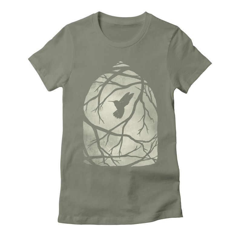 My Home; My Cage Women's Fitted T-Shirt by MidnightCoffee