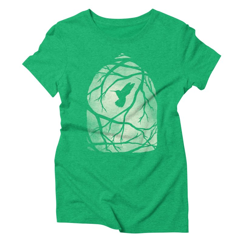 My Home; My Cage Women's Triblend T-Shirt by MidnightCoffee