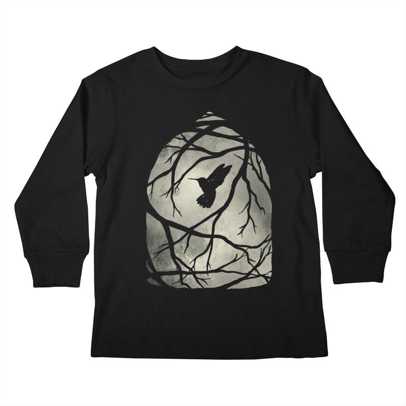 My Home; My Cage Kids Longsleeve T-Shirt by MidnightCoffee