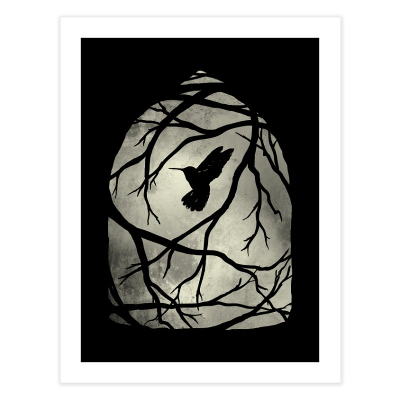 My Home; My Cage Home Fine Art Print by MidnightCoffee
