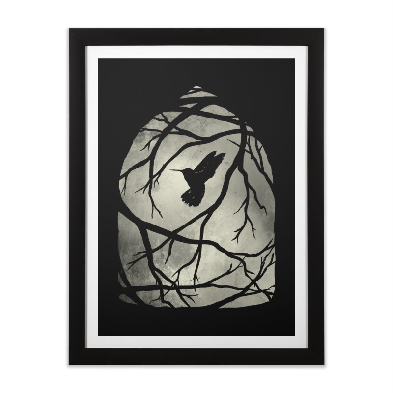 My Home; My Cage Home Framed Fine Art Print by MidnightCoffee