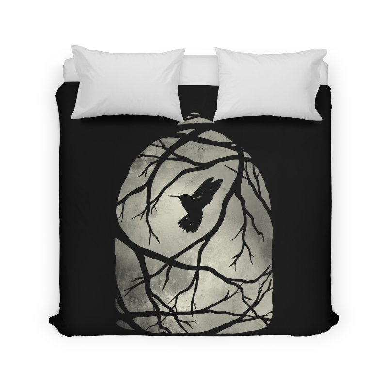 My Home; My Cage Home Duvet by MidnightCoffee