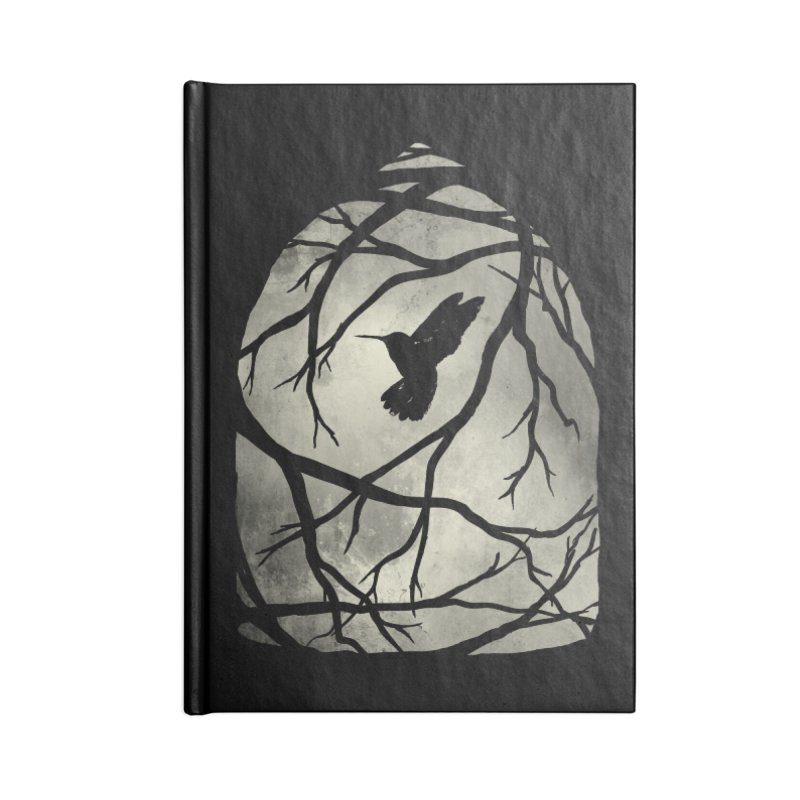 My Home; My Cage Accessories Notebook by MidnightCoffee