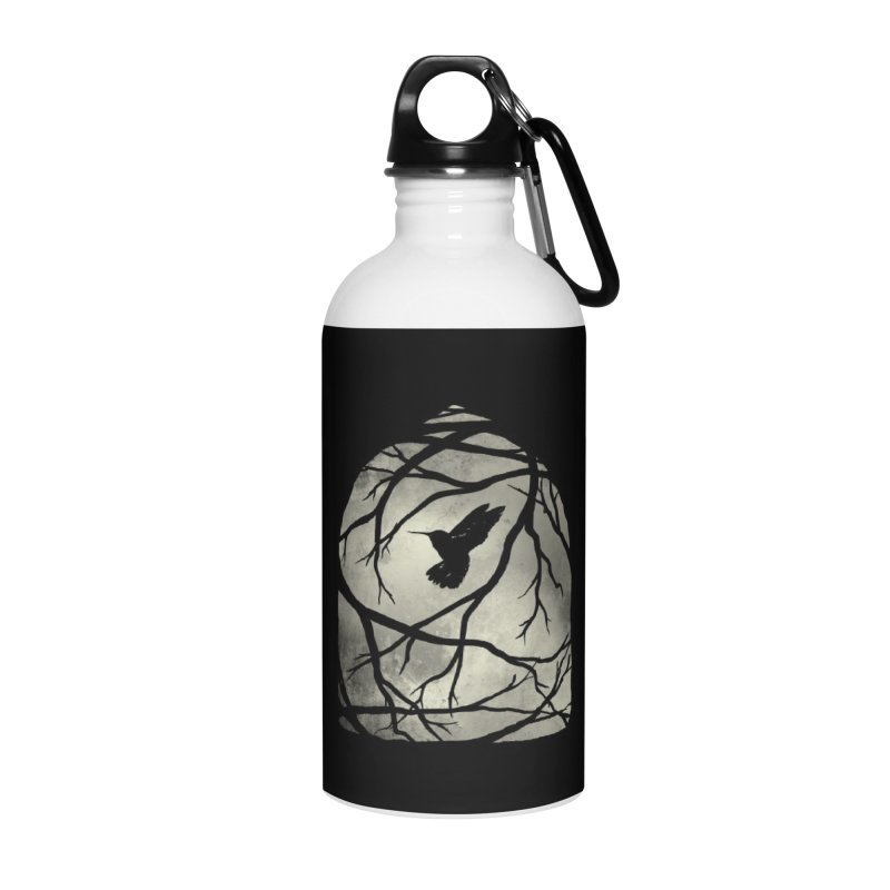 My Home; My Cage Accessories Water Bottle by MidnightCoffee