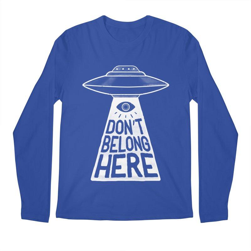 Beam Me Up Men's Longsleeve T-Shirt by MidnightCoffee